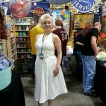 Marilyn Monroe spotted at Motor City Comic Con