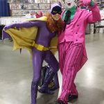 Classic Batgirl and the Joker