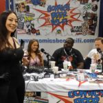 Agent Nyssa with CBSF at Motor City Comic Con