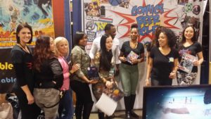 CBSF at the 2016 Motor City Comic Con