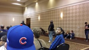 Q about to drop some knowledge on 2016 Motor City Comic Con